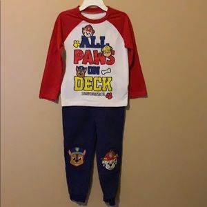 Toddler Boys Paw Patrol Shirt & Pants